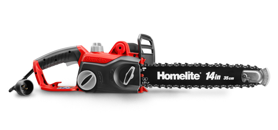 Chainsaws homelite 14 electric chainsaw greentooth