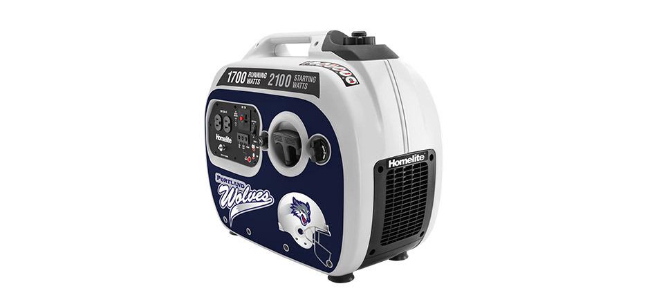 Generador silencioso de 2100 vatios para comidas con el auto